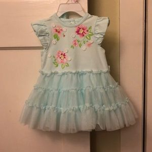 NWT 9 month flower dress